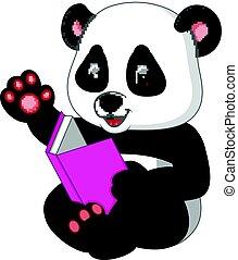 書, 閱讀, 熊貓