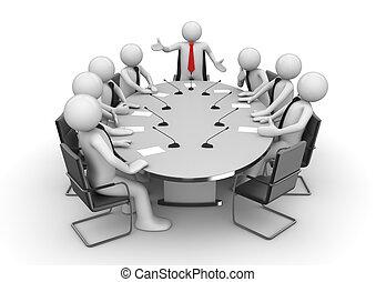 會議會議, 房間