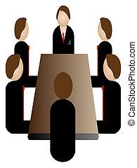 會議, 事務, 圖象