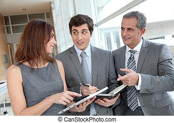 會議, 大廳, 商業組