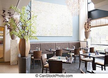 會議, 餐館, 地方