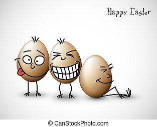 有趣, 蛋, 復活節
