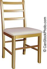 木制的椅子