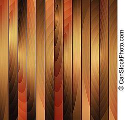 木制, 布朗, 矢量, 結構, 背景