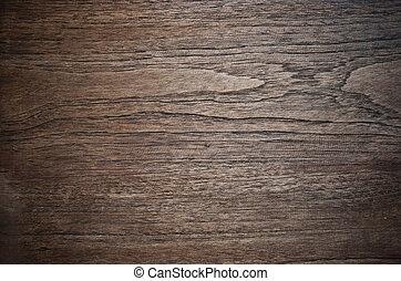 木制, 質地, 老