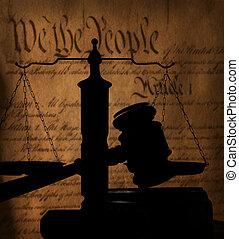 木槌, 憲法, 我們