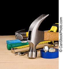 木頭, 建設, 錘子, 其他, 工具