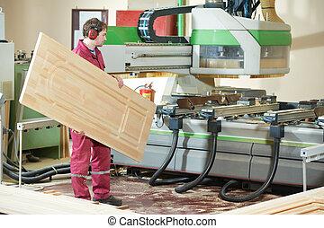 木頭, 生產, 門, 木工工作