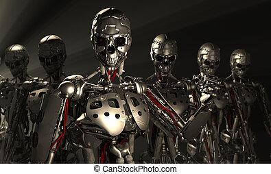 机器人, 高階