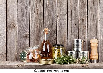 架子, 成分, 烹調, 藥草, 香料