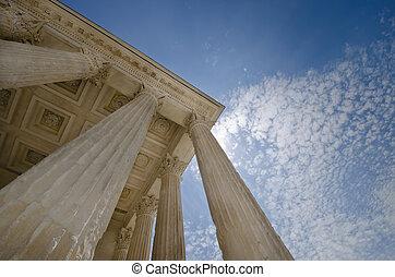 柱子, 正義