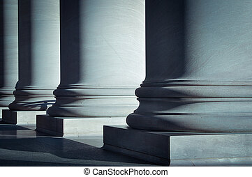 柱子, 法律, 教育