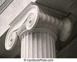 柱子, 法律