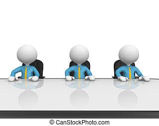 桌子, 會議