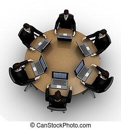 桌子, 輪