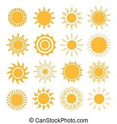 桔子太陽, 圖象