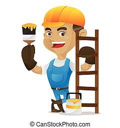梯子, 做零活的人, 染料灌木地帶, 藏品, 傾斜