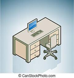 椅子, 辦公室書桌