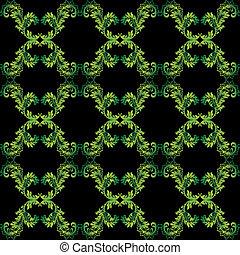 植物的模式, seamless