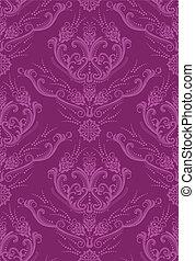 植物, 牆紙, 紫紅色, 豪華