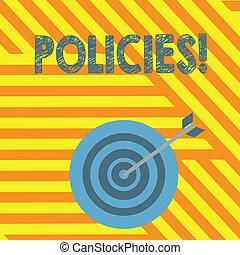 概念, 事務, 政府, 規則, 正文, 公司, 寫, 規章, 意思, policies., standards., 書法, 或者