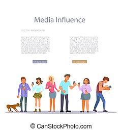 概念, 影響, 媒介