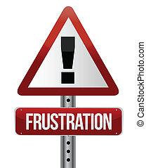概念, 警告, 挫折, 簽署