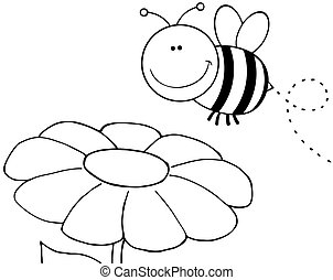 概述, 飛行結束, 花, 蜜蜂