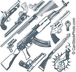 槍, 彙整