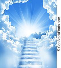 樓梯, 天空