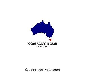 標識語, 地圖, 摘要, 樣板, 澳大利亞