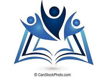 標識語, 書, 教育, 配合
