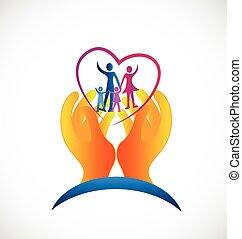 標識語, 符號, 健康, 家庭, 關心