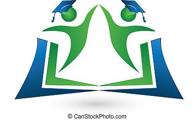 標識語, 配合, 書, 學生