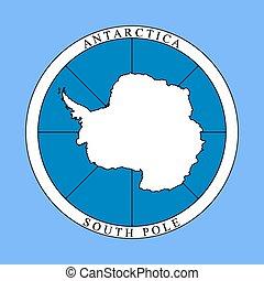 標識語, antarctica, 大陸