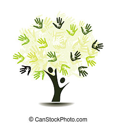樹, 手掌