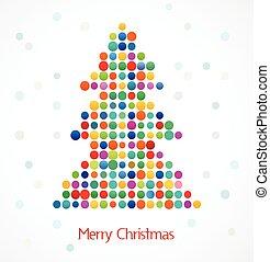 樹, 象素, 聖誕節