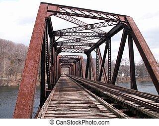 橋梁, 鐵路