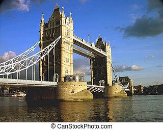橋樑塔, 倫敦, 下午