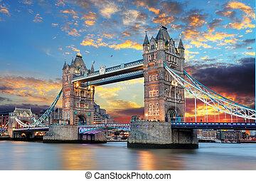 橋樑塔, 倫敦, 英國