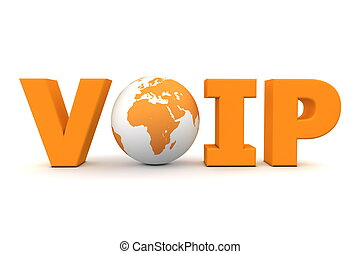 橙, 世界, voip