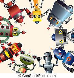 機器人, 卡片