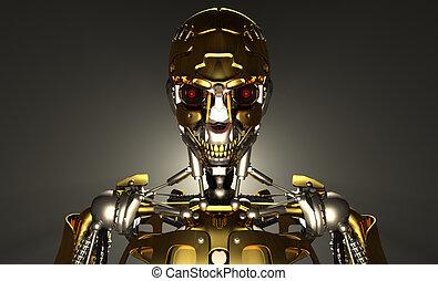 機器人, 高階