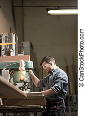 機器, 使用, 木材加工, 木匠