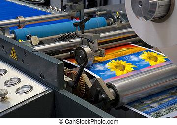 機器, 列印