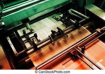 機器, 列印, 補償