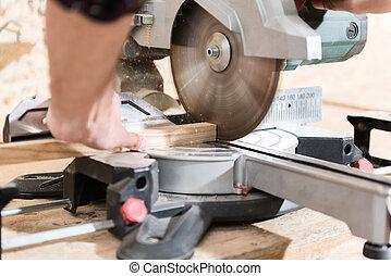 機器, 專業人員, 勞動, woodworker