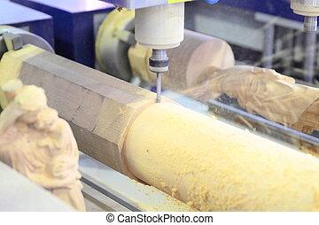 機器, 木材加工, 銑軋, cnc