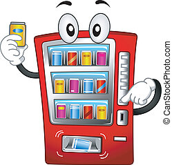 機器, 自動販賣機, 吉祥人