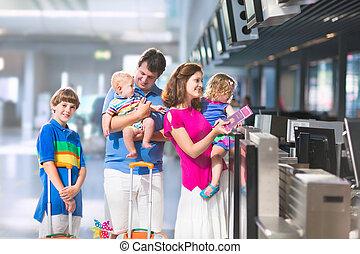 機場, 家庭